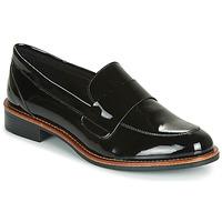 鞋子 女士 皮便鞋 André LIBERO 黑色