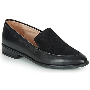 鞋子 女士 皮便鞋 André NAY 黑色
