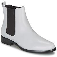 鞋子 女士 短筒靴 André CARAMEL 白色