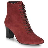 鞋子 女士 短靴 André MELUSINE 红色