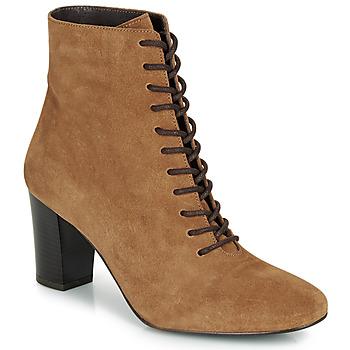 鞋子 女士 短靴 André MELUSINE 驼色
