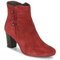 鞋子 女士 短筒靴 André MAJESTEE 红色