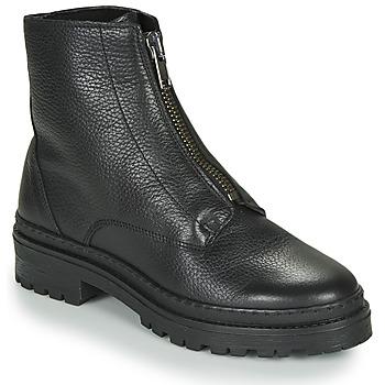 鞋子 女士 短筒靴 André NAIS 黑色