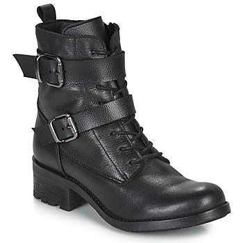 鞋子 女士 短筒靴 André NIMA 黑色