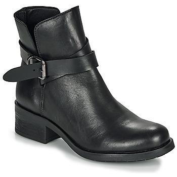 鞋子 女士 短筒靴 André NELL 黑色