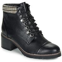 鞋子 女士 短筒靴 André EIGER 黑色 / 漆皮