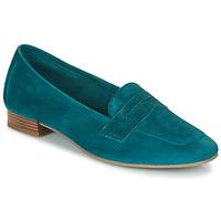 鞋子 女士 皮便鞋 André NAMOURS 蓝色