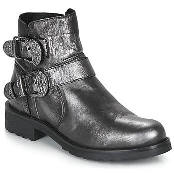鞋子 女士 短筒靴 André NORCROSS 银色