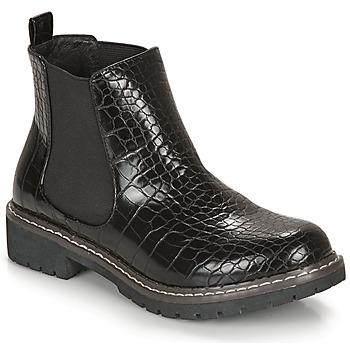 鞋子 女士 短筒靴 André NOVA 黑色