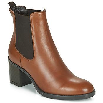 鞋子 女士 短靴 André MABELLE 棕色