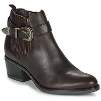 鞋子 女士 短靴 André MADAISY 棕色
