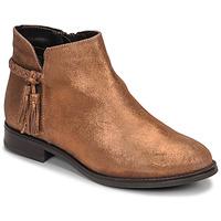 鞋子 女士 短筒靴 André MILOU 金色
