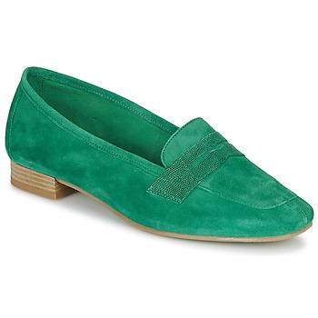 鞋子 女士 皮便鞋 André NAMOURS 绿色