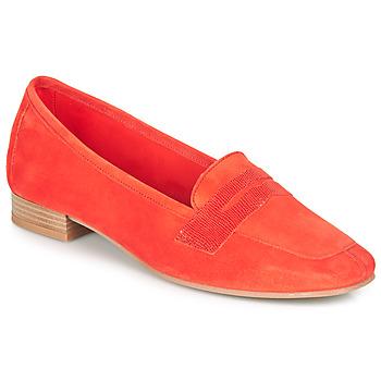 鞋子 女士 皮便鞋 André NAMOURS 珊瑚色