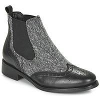 鞋子 女士 短筒靴 André EGLANTONE 黑色