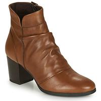 鞋子 女士 短靴 André EBENE 棕色