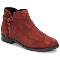 鞋子 女士 短筒靴 André MILOU 红色