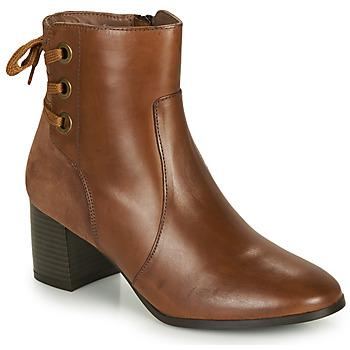 鞋子 女士 短靴 André MANON 棕色 / 驼色