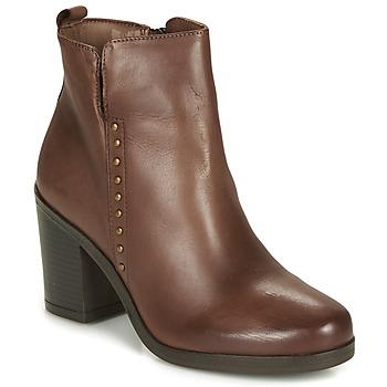 鞋子 女士 短靴 André NOURA 棕色