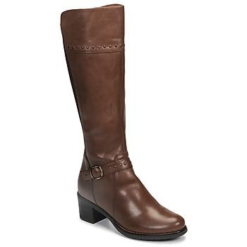 鞋子 女士 都市靴 André MANOU 棕色