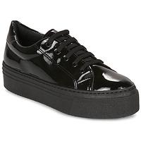 鞋子 女士 球鞋基本款 André SODA 黑色 / 漆皮