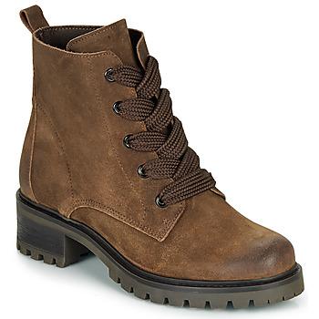 鞋子 女士 短筒靴 André ELISE 棕色