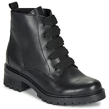 鞋子 女士 短筒靴 André ELISE 黑色