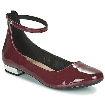 鞋子 女士 高跟鞋 André LEOSA 波尔多红
