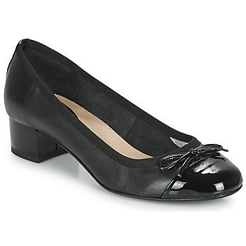 鞋子 女士 高跟鞋 André POEMINE 黑色