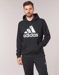 衣服 男士 衛衣 adidas Performance 阿迪達斯運動訓練 MH BOS PO FT 黑色