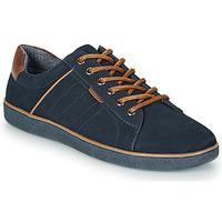 鞋子 男士 球鞋基本款 André ELTON 海藍色