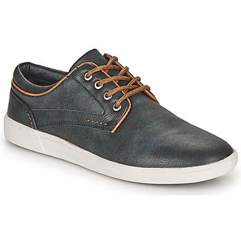 鞋子 男士 德比 André CHAINE 海蓝色