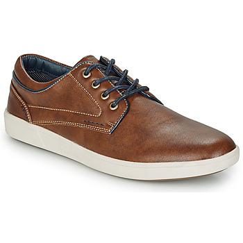 鞋子 男士 德比 André CHAINE 驼色