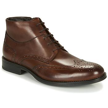 鞋子 男士 短筒靴 André LORMAND 棕色