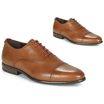 鞋子 男士 系带短筒靴 André WILEXA 棕色