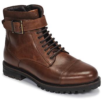 鞋子 男士 短筒靴 André SANTOS 棕色