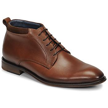 鞋子 男士 短筒靴 André MUBU 棕色