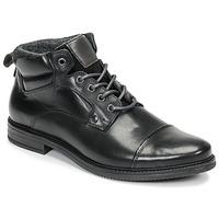 鞋子 男士 短筒靴 André VABON 黑色