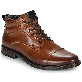 鞋子 男士 短筒靴 André VABON 棕色