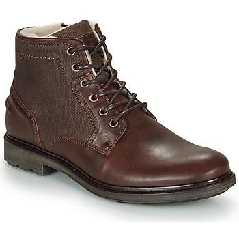 鞋子 男士 短筒靴 André TIGNES 棕色