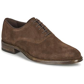 鞋子 男士 系带短筒靴 André CHARMING 棕色