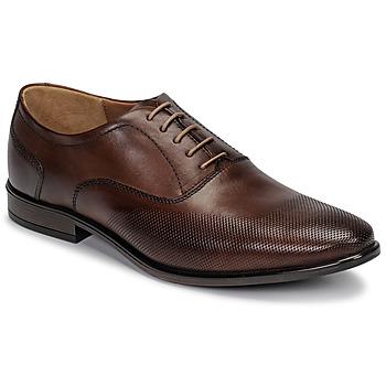鞋子 男士 系带短筒靴 André PERFORD 棕色