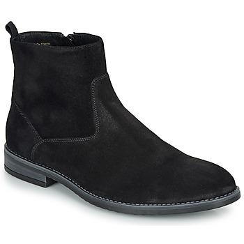 鞋子 男士 短筒靴 André LEMAN 黑色