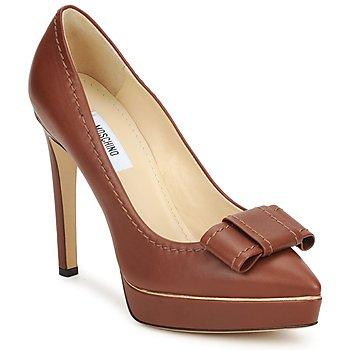 鞋子 女士 高跟鞋 Moschino MA1009 Tobacco