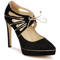 鞋子 女士 高跟鞋 Moschino MA1004 黑色金色