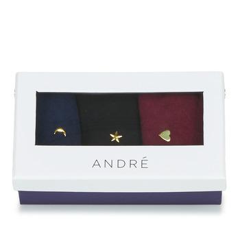紡織配件 女士 短筒襪 André MINUIT Multi