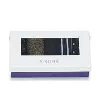 纺织配件 女士 短筒袜 André FIRMAMENT 黑色