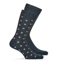 紡織配件 男士 短筒襪 André LOSANGE 海藍色
