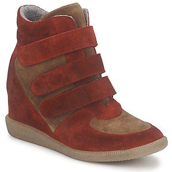 鞋子 女士 高帮鞋 Meline IMTEK BIS 棕色 / 红色