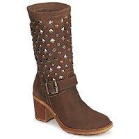 鞋子 女士 都市靴 Meline DOTRE 棕色